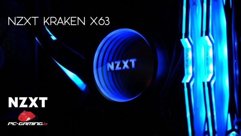NZXT KRAKEN X63 | Recensione e benchmark