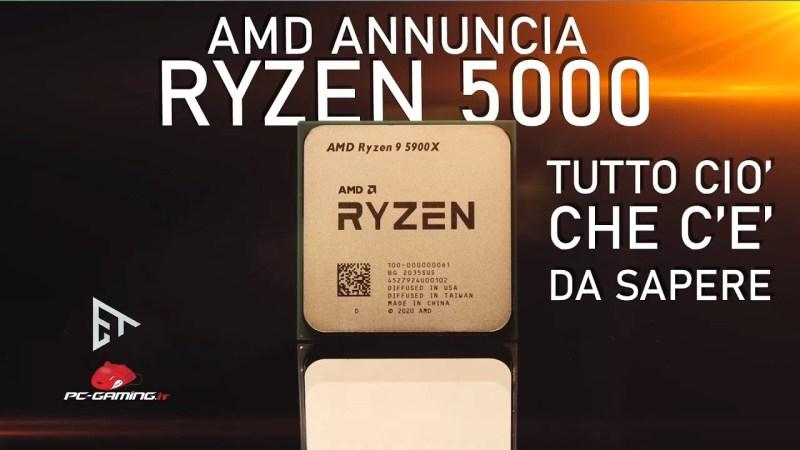 AMD ZEN 3 Ryzen 5000 | Tutto ciò che c'è da sapere