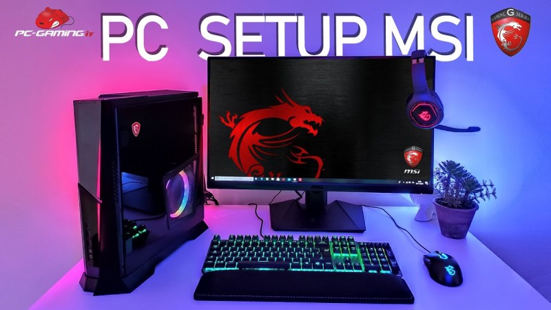 PC SETUP FULL MSI – Postazione completa per il FULL HD 144HZ