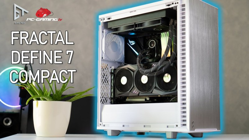 Il case BEST BUY SILENZIOSO – Fractal Define 7 Compact