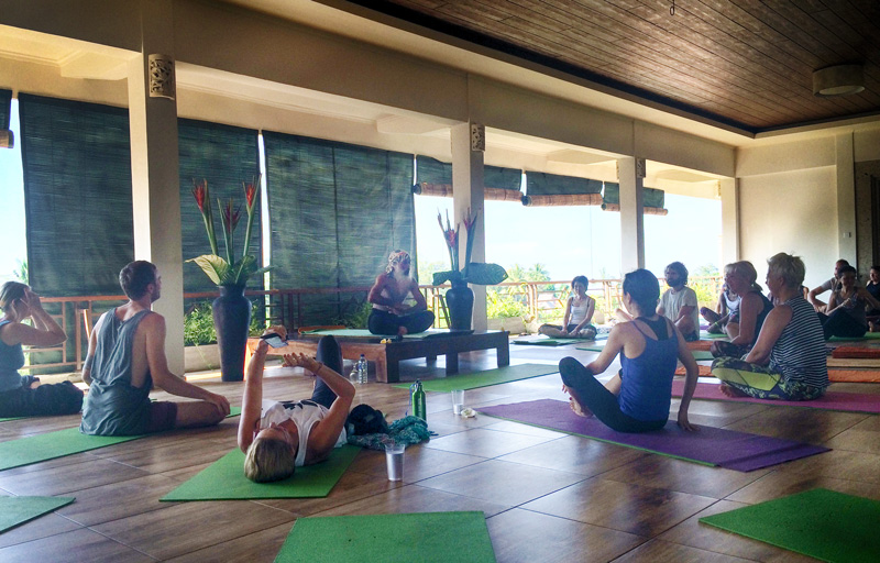 om ham yoga retreat ubud