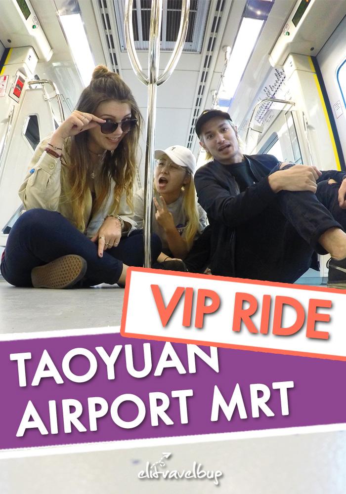 PIN ME - Taoyuan Airport MRT 體驗桃園機場捷運