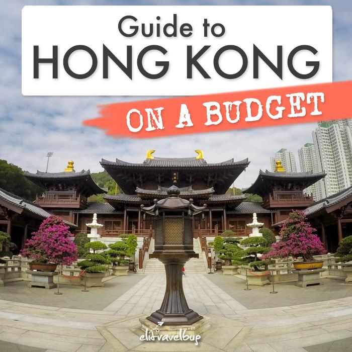 hong kong on a budget