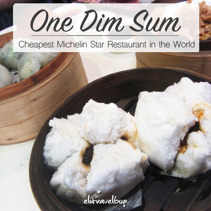 One Dim Sum - cheapest michelin star restaurant