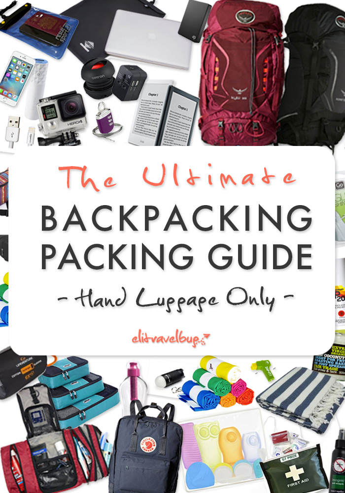 Backpacking Packing Guide PIN