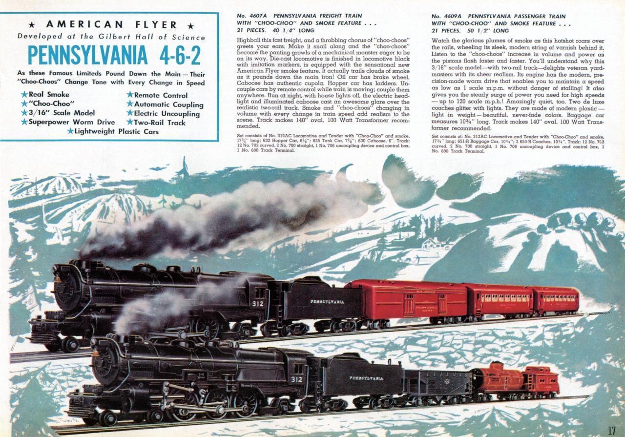 Pennsylvania Freight Train with ChooChoo and Smoke