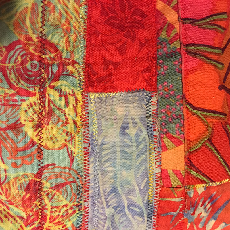 Sewing Fabric Collage  The Eli Whitney Museum and Workshop