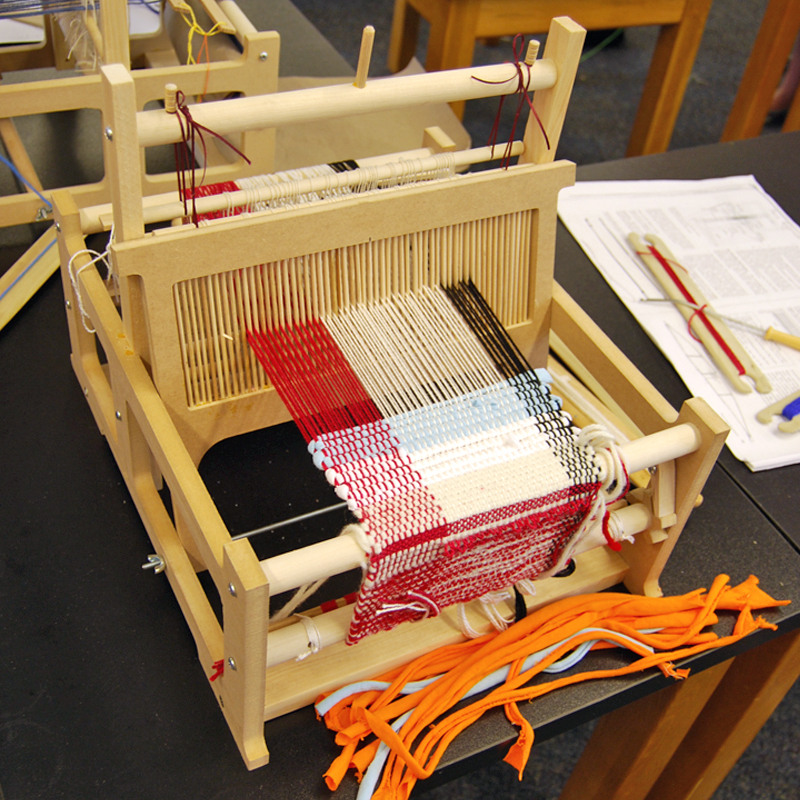 Countermarch Loom  Weaving  The Eli Whitney Museum and Workshop