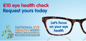 Boots National Eye Health Week