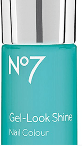 Boots No7 Gel-look Shine Nail Colour in Mint