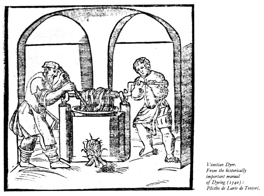 Ciba 1: Medieval Dyeing