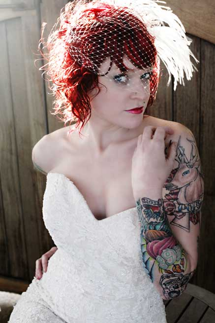 "Flickr search ""tattoo bride"" and you come up with thousands of pictures."