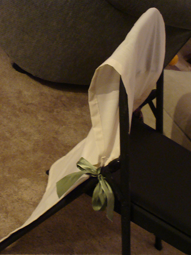 two seat folding chair best wooden high diy covers - elizabeth anne designs: the wedding blog