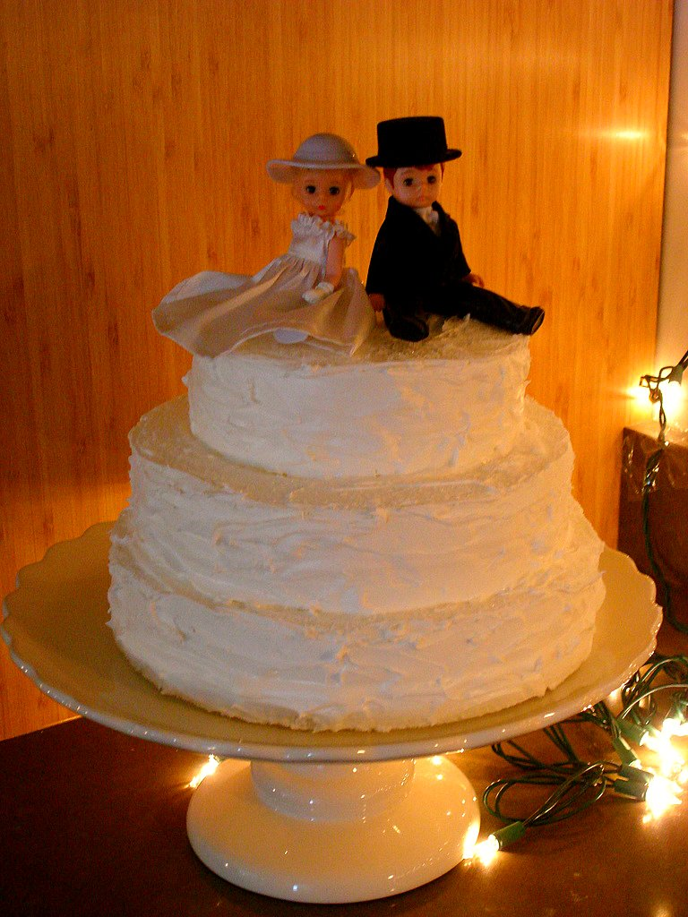 DIY Wedding Details Fake Wedding Cake Elizabeth Anne