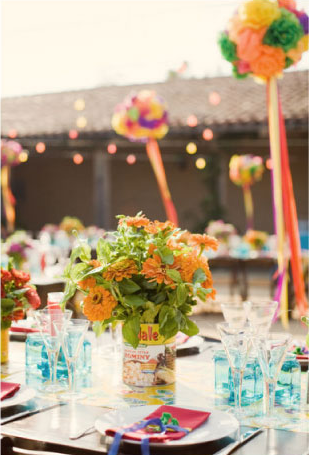mexican-inspired-tabletop-vintage-can-centerpieces
