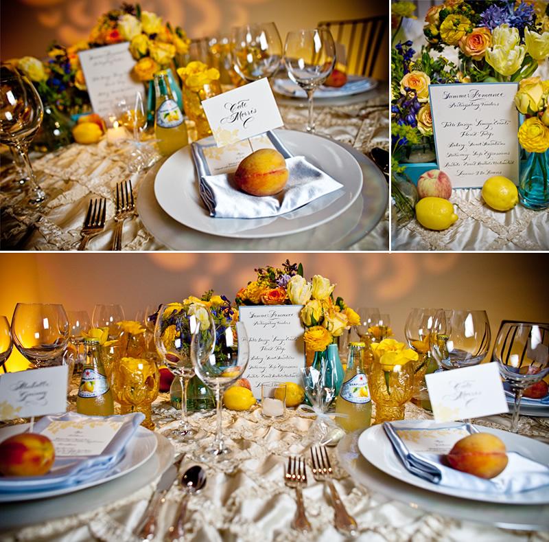Summer Romance Tablescape  Elizabeth Anne Designs The