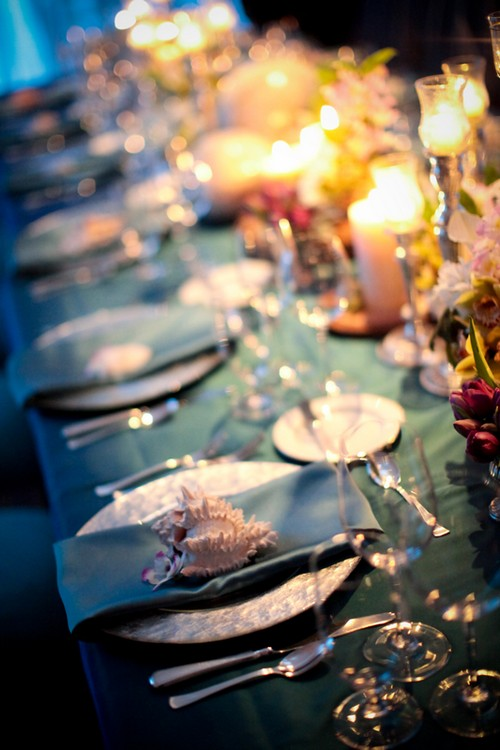 Ocean Theme Wedding Centerpiece Ideas Elizabeth Anne