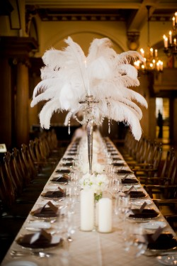Vancouver Club Wedding With Brown White Black Champagne