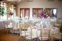 Purple White and Gold Wedding Reception Decor - Elizabeth ...
