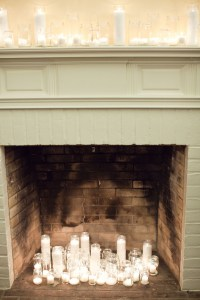 Candles-in-Fireplace - Elizabeth Anne Designs: The Wedding ...