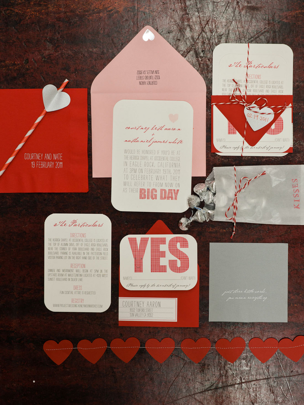 Pink And Red Wedding Invitations – Pink and Red Wedding Invitations