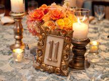 Gold-Bronze-Orange-Centerpiece - Elizabeth Anne Designs ...