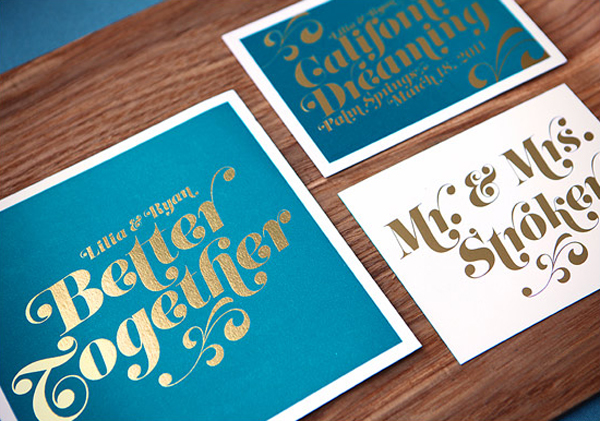 Gold Foil Printing Wedding Invitations Was Very Inspiring Ideas You May Choose For Invitation