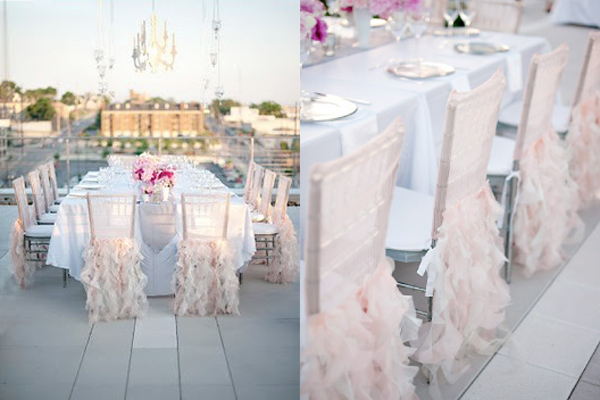 wedding chair covers for bouncing babies in india pale pink rufled elizabeth anne designs the blog