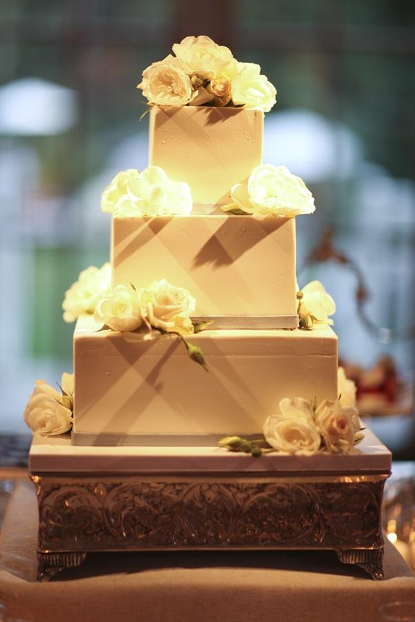 Elegant Modern Wedding Cake Elizabeth Anne Designs The