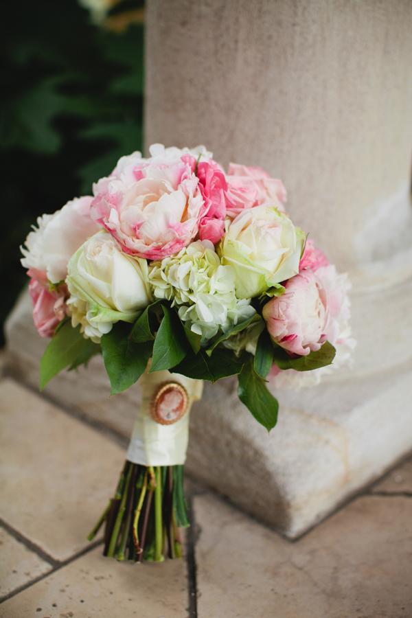 Rose and Peony Wedding Bouquet  Elizabeth Anne Designs The Wedding Blog
