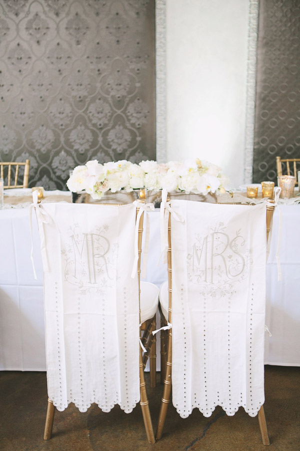 wedding chair covers for bride and groom how to reupholster a dining room cushion elizabeth anne designs the blog