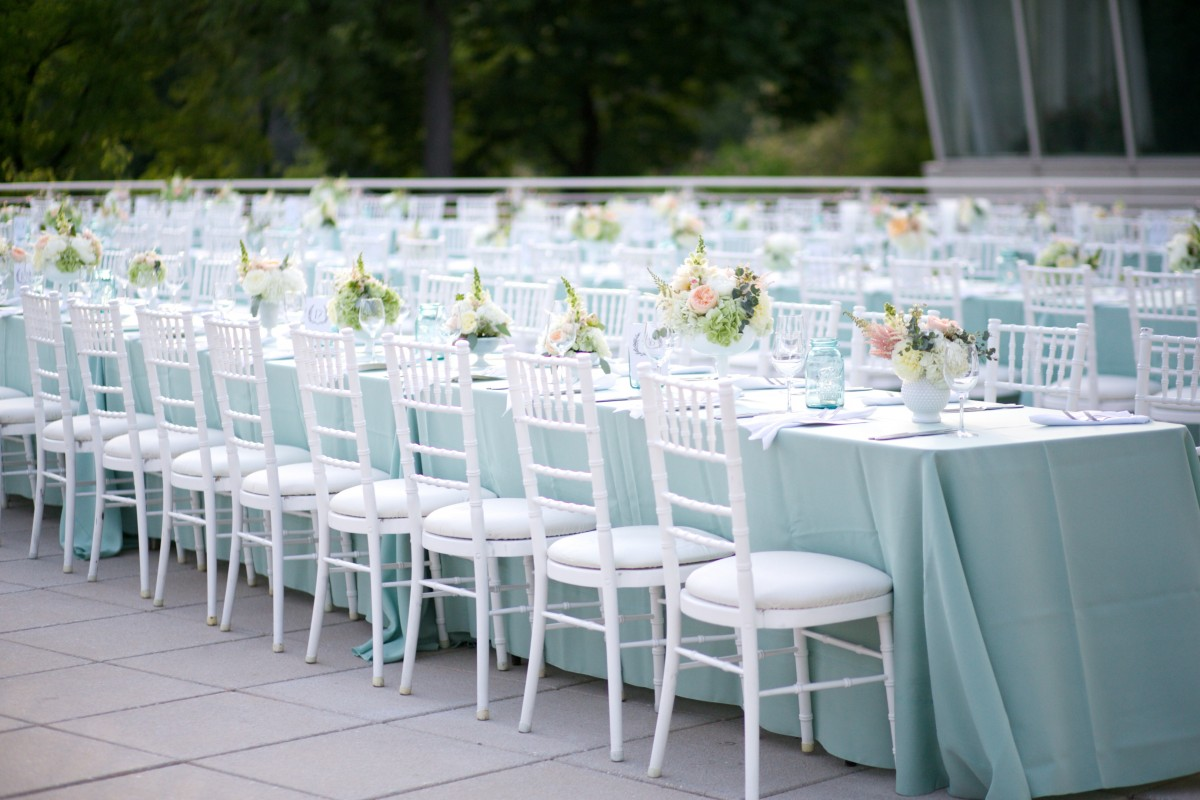 white chairs for wedding black ladder back peggy notebaert nature museum chicago from fleur