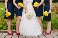 Shoes For Navy Blue Bridesmaid Dress - Style Guru: Fashion ...