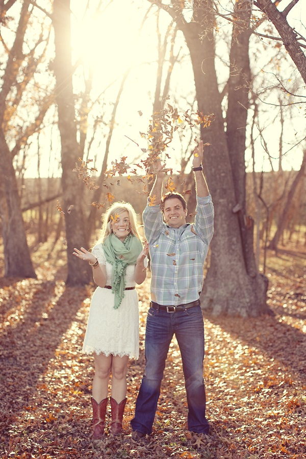Texas Farm Engagement Session From Sarah Kate