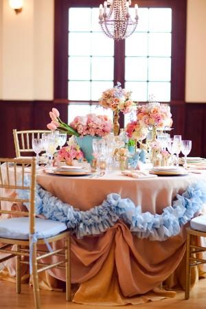 Pastel Blue Pink Wedding Inspiration From Corbin Gurkin