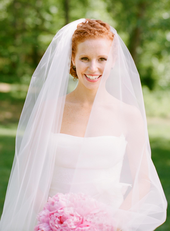 Classic Redhead Bride Elizabeth Anne Designs The