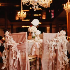 Chair Covers Vintage World Market French Bistro Chairs With Bows And Lace Elizabeth Anne Designs
