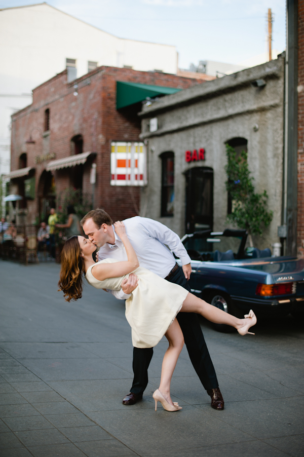 Vintage Convertible Engagement Session From Hazelnut