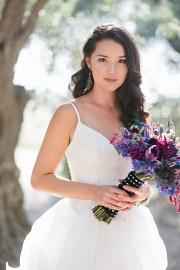 long bridal hair ideas - elizabeth