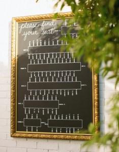 Framed glass chalk reception seating chart also elizabeth anne designs rh elizabethannedesigns