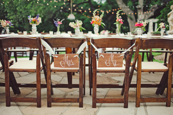 mr and mrs chair signs office chairs dallas elizabeth anne designs the wedding blog