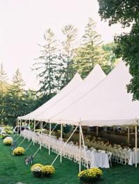 Backyard Tent Reception Ideas - Elizabeth Anne Designs ...