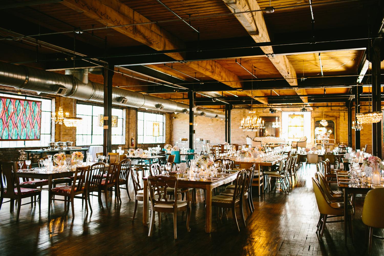 Industrial Wedding Venues In Chicago Elizabeth Anne