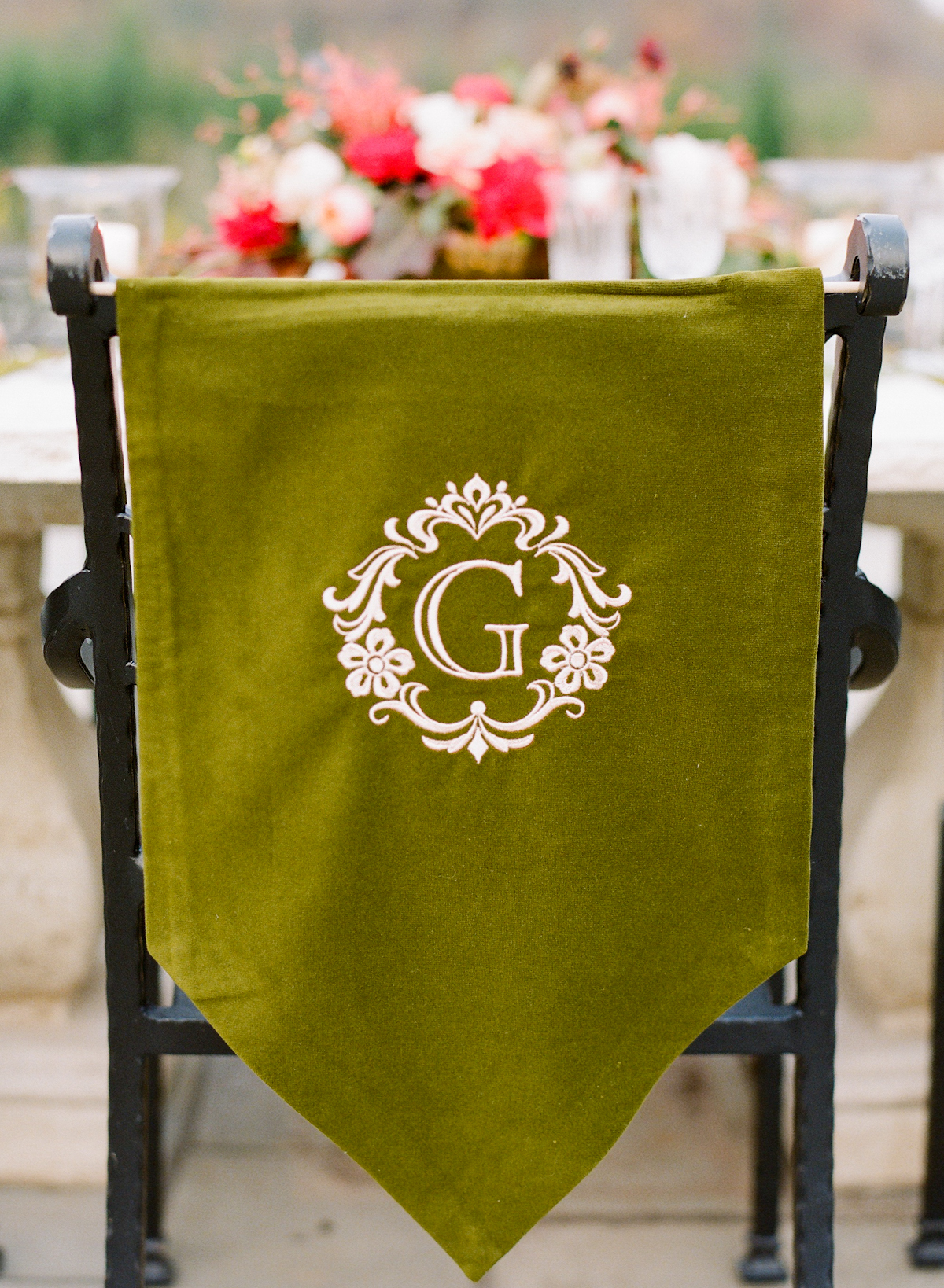 personalized makeup chair hanging on sale monogrammed cover elizabeth anne designs the