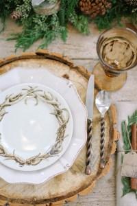 Rustic Wood Place Setting - Elizabeth Anne Designs: The ...