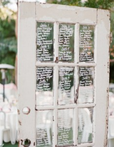 Seating chart on vintage door also charts wedding ideas elizabeth anne designs the blog rh elizabethannedesigns