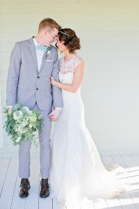 Gray Suit and Blue Bow Tie - Elizabeth Anne Designs: The ...
