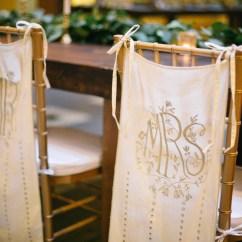Elegant Chair Covers For Wedding Adjustable Gym Monogrammed Mr Elizabeth Anne Designs The