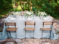Dusty Blue Wedding Table - Elizabeth Anne Designs: The ...