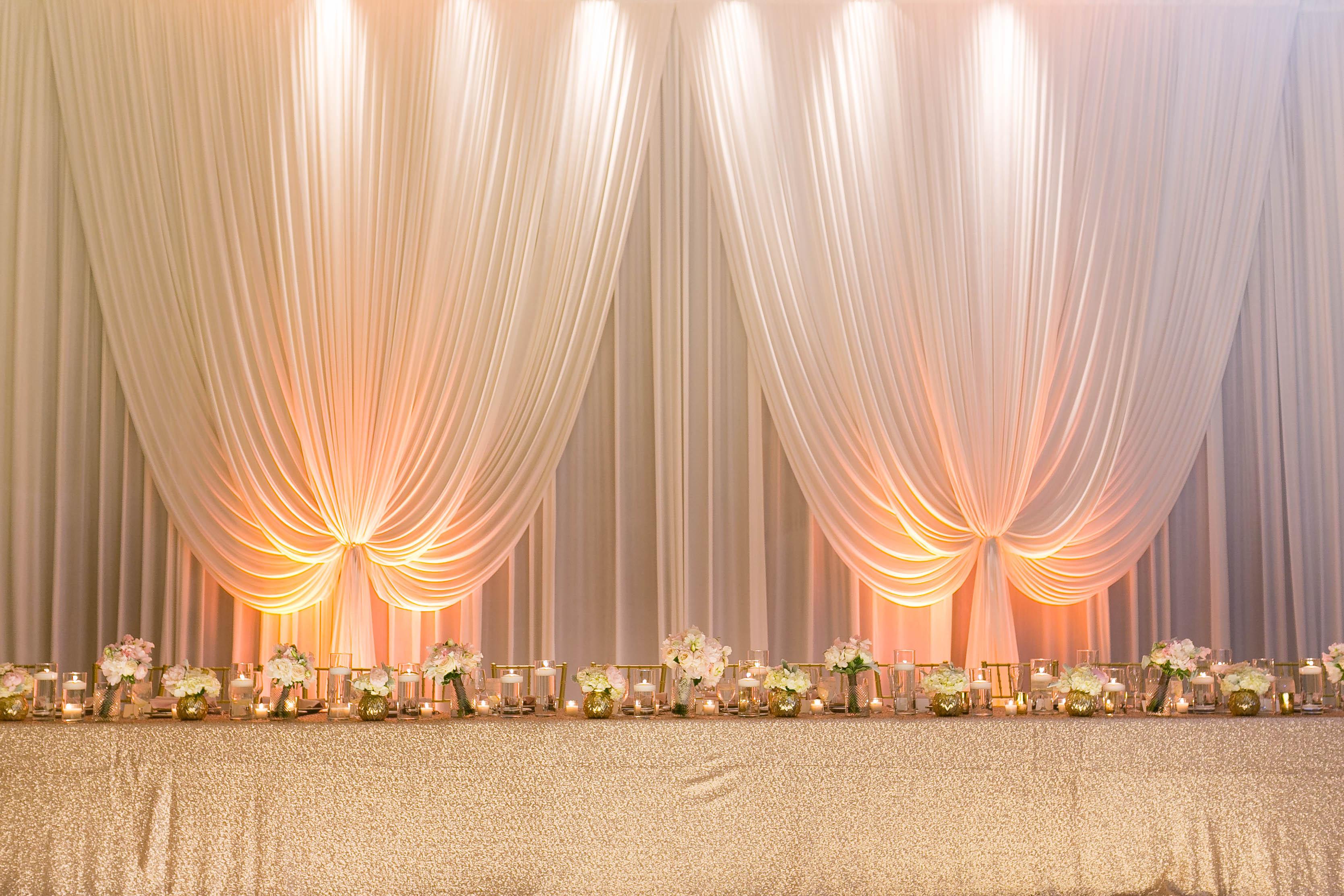 Head Table at Wedding  Elizabeth Anne Designs The